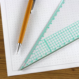 A3 Dotted Grid Paper 5mm 0.5cm Squared - 30 Loose-Leaf Sheets
