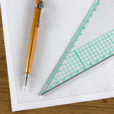 A3 Graph Paper 3mm 0.3cm Squared Cartesian - 30 Loose-Leaf Sheets
