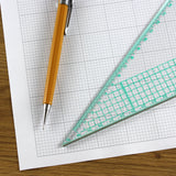 "A3 Graph Paper 1/10 inch 0.1"" Squared Engineering - 30 Loose-Leaf Sheets"