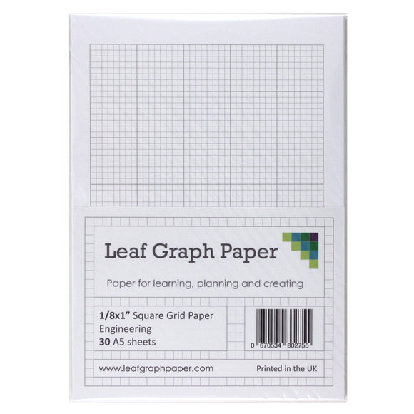 graph paper packs a5 a4 a3 tagged grid type square leaf graph