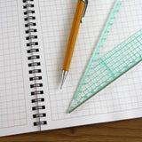 A4 Graph Paper 7mm 0.7cm Squared Jotter Pad, 50 Pages Cartesian Style
