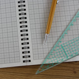 A4 Graph Paper 2mm 0.2cm Squared, 100% Recycled Jotter Pad, 56 Pages