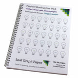 Project Book A4 Jotter Pad - Premium Paper - 104 Pages - Planning