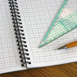 A3 graph paper jotter pad 5mm 0.5cm squared engineering, 60 pages 100gsm