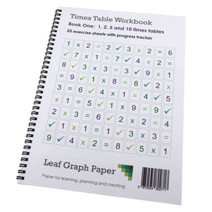 Times Table Workbook KS1 1, 2, 5 and 10 Tables Mix (Ages 4 to 7) Book 1