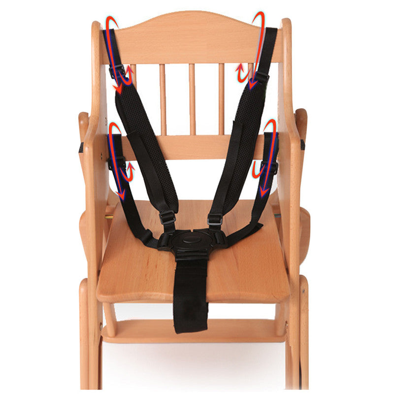 5 Point High Chair Safety Harness