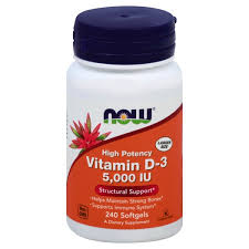 Vitamin D-3  NOW