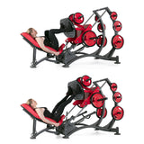LEG PRESS 45°  FREEWEIGHT