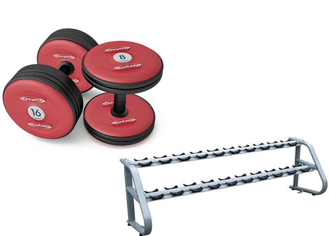 Dumbell Set + Rack