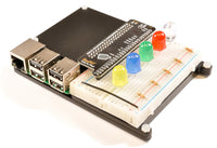 RasPiO Breadboard Pi Bridge (BBPi) connect all Pi ports to breadboard in numerical order