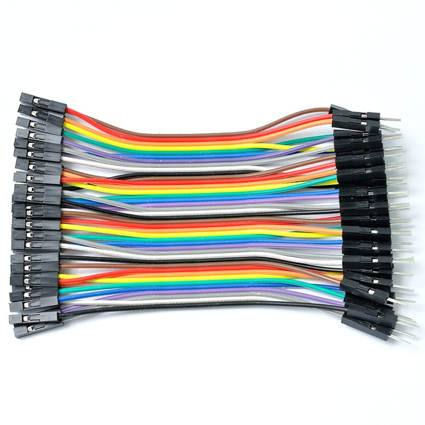 Breadboarding jumper wires DuPont connector female-male 10cm