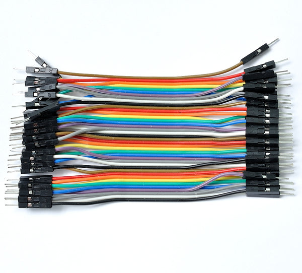 Breadboarding jumper wires DuPont connector male-male 10cm