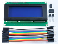 RasPiO LCD20 - 20x4 i2c Character LCD screen for RasPiO Duino & Raspberry Pi