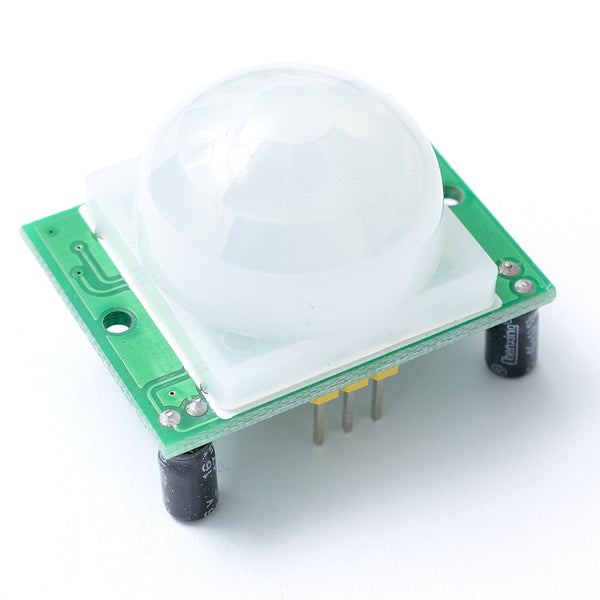 PIR motion sensor with sensitivity and duration controls