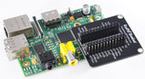 RasPiO Breakout fits all Raspberry Pi - even original 26-pin models