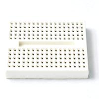 mini breadboard 170 points angle view