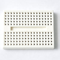 Mini breadboard 170 points white for electronics and prototyping raspberry pi
