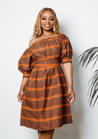 Zongo One-Shoulder Dress