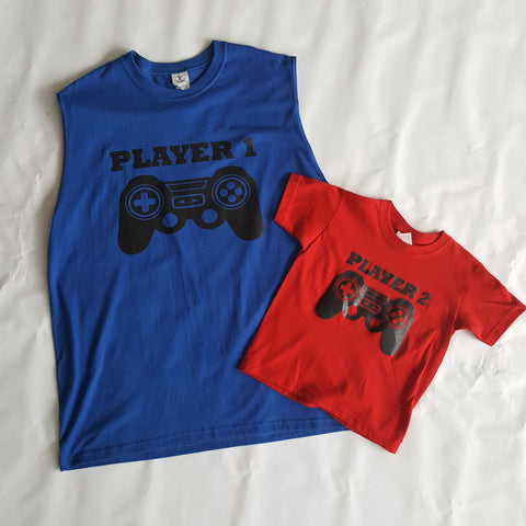 Graphic T-Shirts-Matching Adult and Child