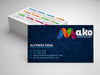 Mako - Business Cards & Calendar