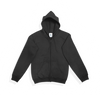 J0702 | Youth's Unisex Full Zip Hooded Sweatshirt With Kangaroo Pocket
