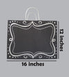Bags - Black Vintage (12inches)