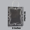 Bags - Black Vintage (10inches)