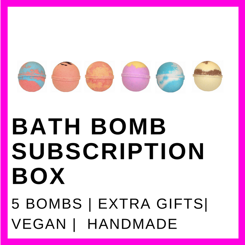 Bath Bomb Subscription Box