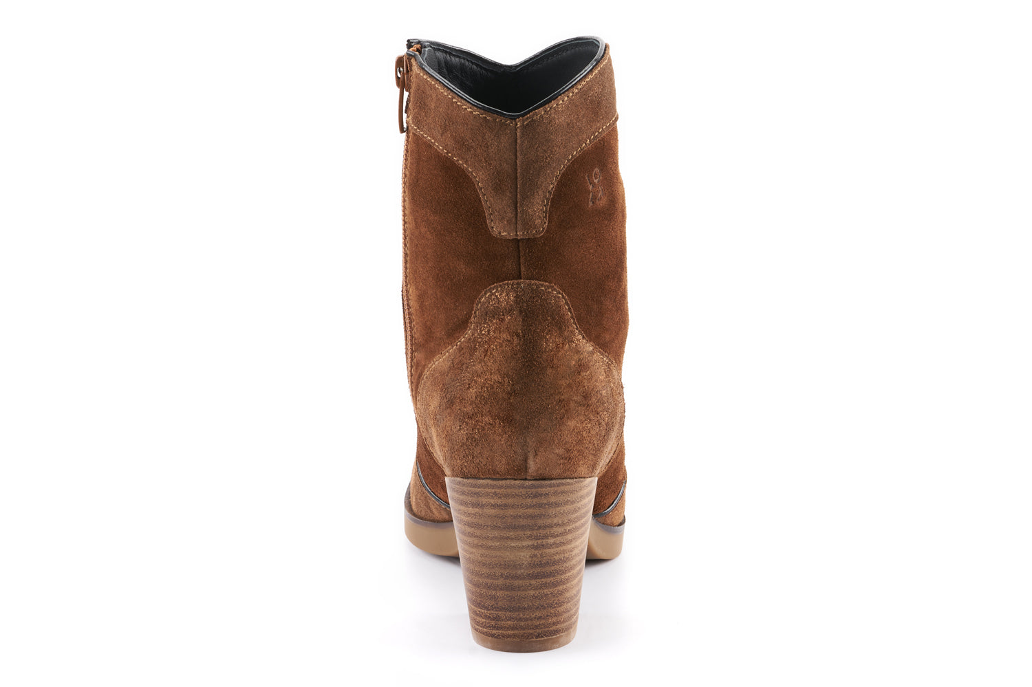 Darcie Leather Cowboy Boot - Brandy
