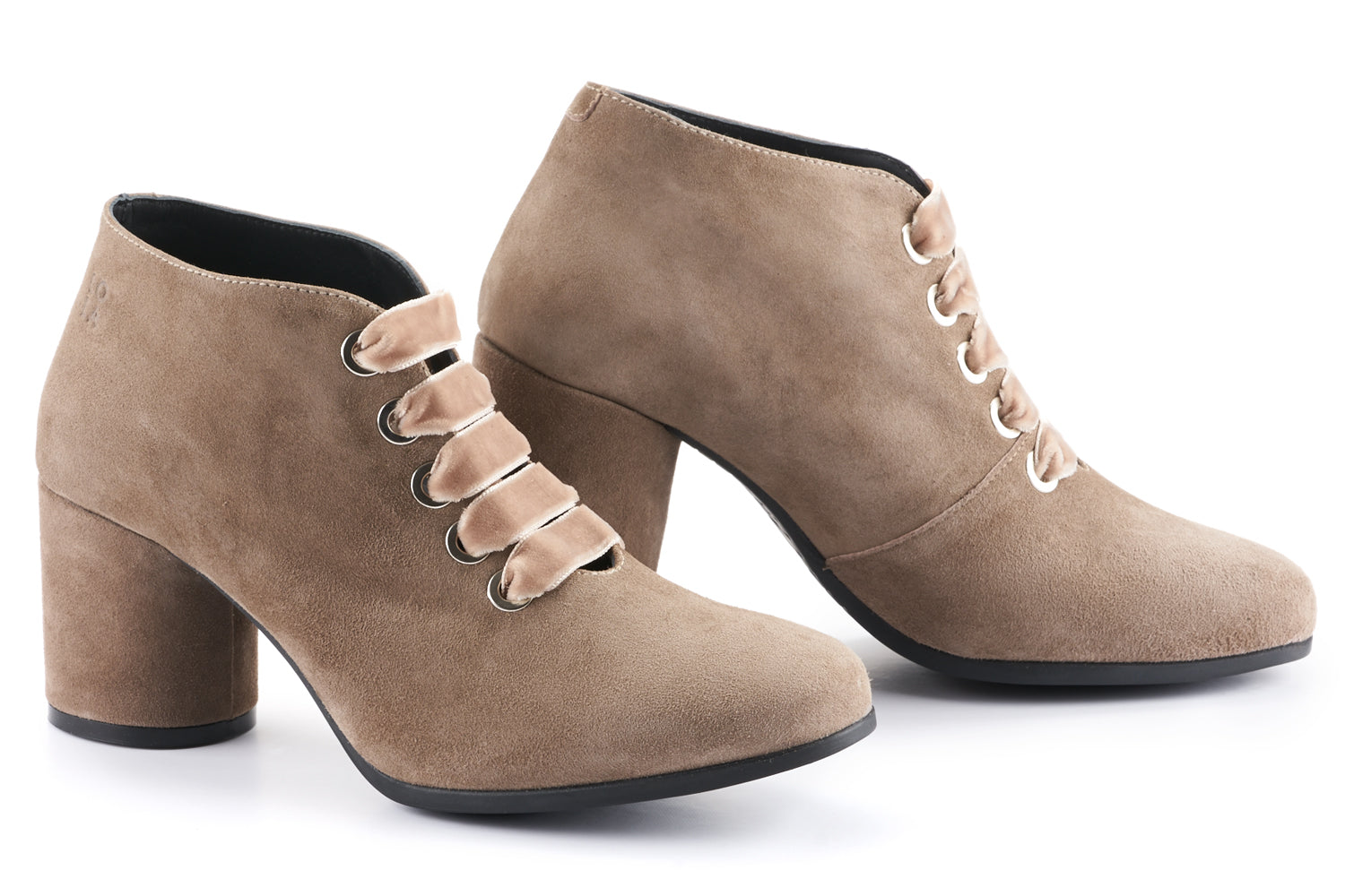 Lexi Suede Ankle Boot - Stone