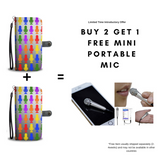 NVCPW03RB Worth Saying Wallet Case With Built-in RFID Protection  - Introductory Discount Promo - Amateur Home Studio