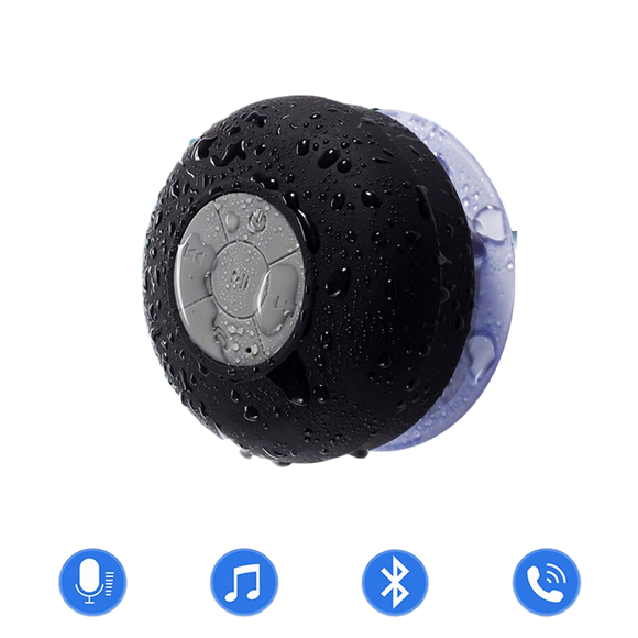 NBTS01 Waterproof Shower Bluetooth Speaker With Handsfree Mic - Amateur Home Studio