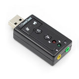 AI02 7.1 USB Sound Card with Volume and Mute Control - Amateur Home Studio