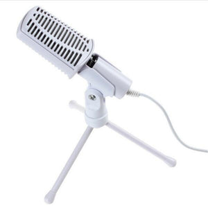 MCA02 Vantage Classic Podcast Studio Condenser Microphone (Fix wired 3.5mm jack) - Amateur Home Studio