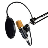 MCPU03 Directional Pro USB Condenser Microphone With Built-in Reverb and Volume Controller - Amateur Home Studio