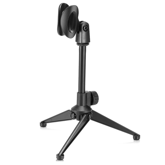 MS03 Long Universal Black Foldable Microphone Holder - Amateur Home Studio