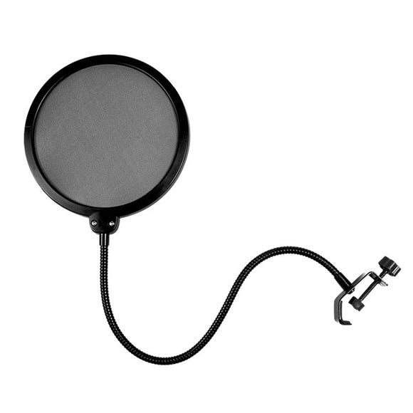 APF01 Flexible Gooseneck Microphone Pop Filter - Amateur Home Studio
