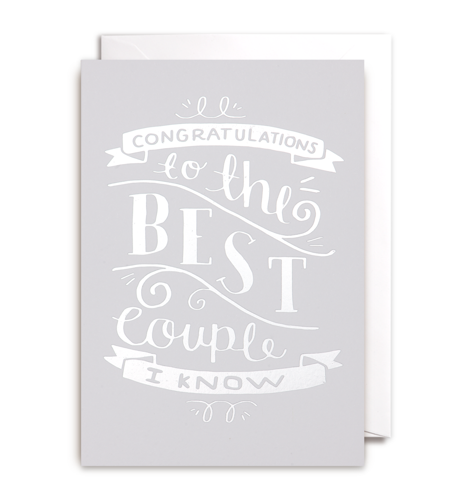 1218 Steph Baxter - To The Best Couple I Know - Mrs Best Paper Co.