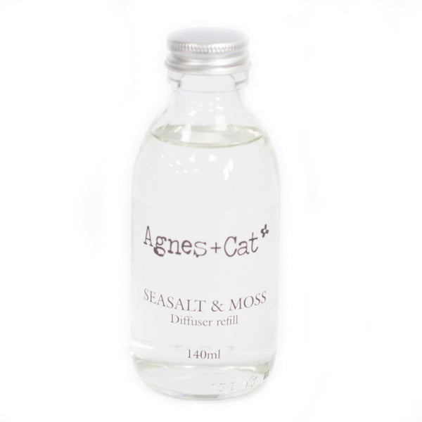 150ml Reed Diffuser Refill - Seasalt and Moss ACDR-06