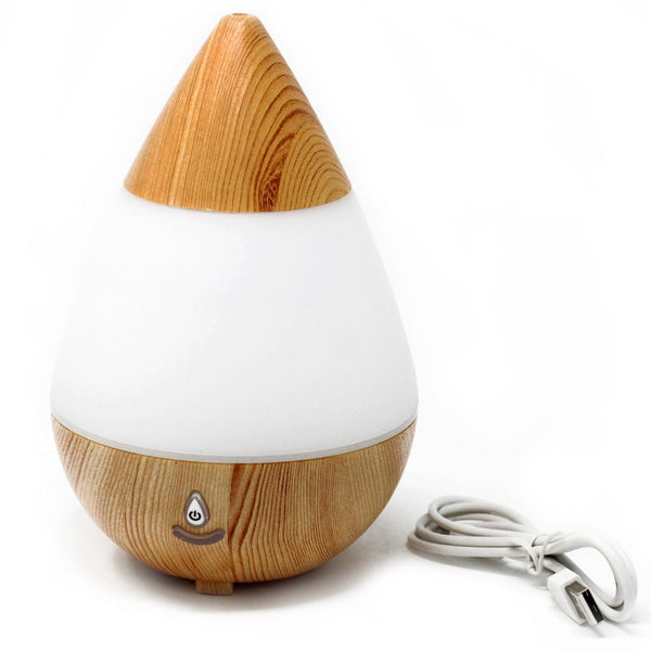 Teardrop Aroma Diffuser Atomiser - USB - LED Colours