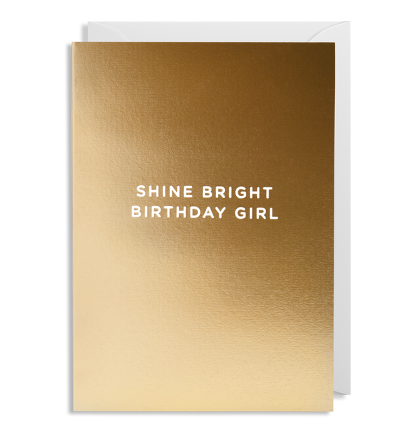 1638 Kelly Hyatt - Shine Bright Birthday Girl - Mrs Best Paper Co.
