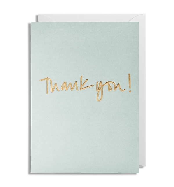 1641 Kelly Hyatt - Thank You Greeting Card - Mrs Best Paper Co.
