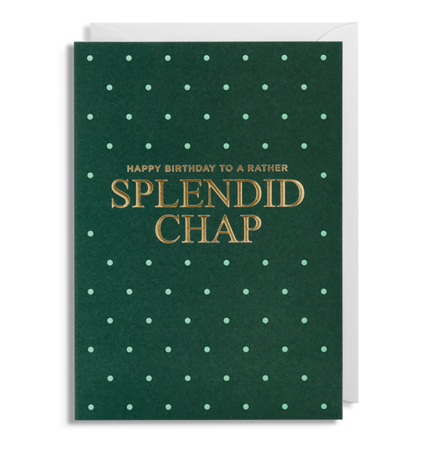 1644 - Splendid Chap Greeting Card