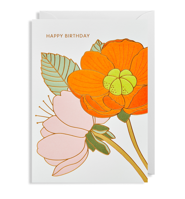 1714 Hanna Werning - Happy Birthday Greeting Card - Mrs Best Paper Co.