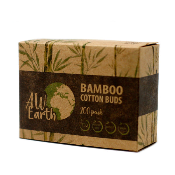 AW Box of 200 Bamboo Cotton Buds