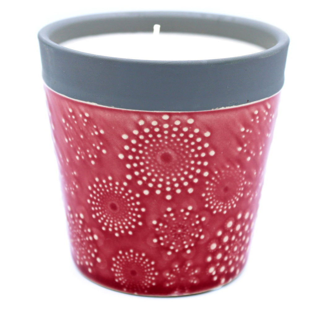 Home Is Home Candle Pot - Rambling Rose