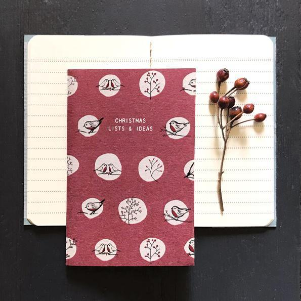 Small book-Christmas lists and ideas - Mrs Best Paper Co.