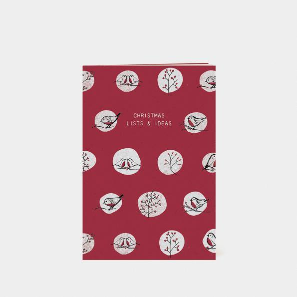 Small book - Christmas lists and ideas - Mrs Best Paper Co.