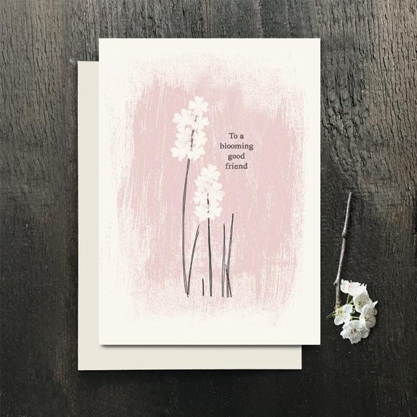 2442g Blossom Card - To A blooming Good Friend
