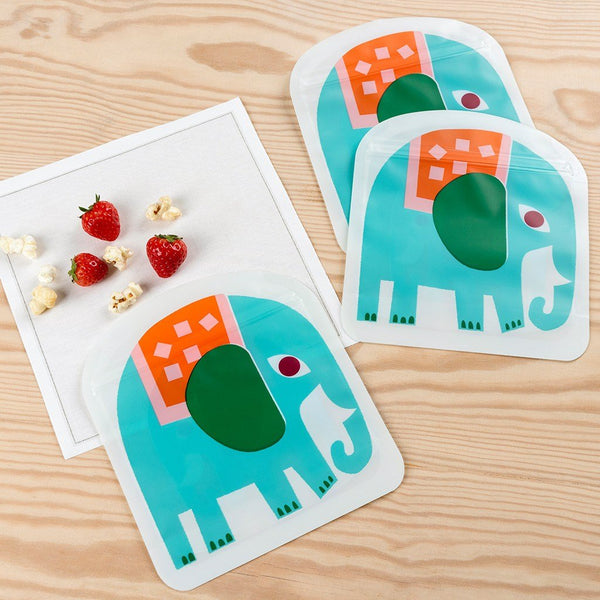 Elephant Snack Bags (Set Of 3) 29154